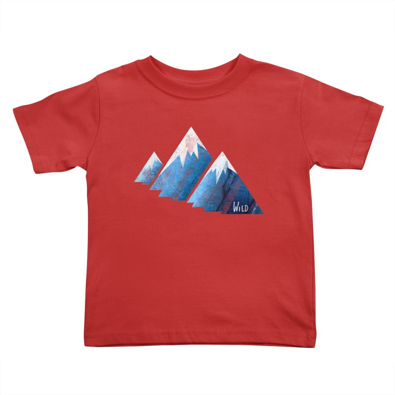 WILD MAJESTY Kids Toddler T-Shirt by iCKY the Great's Artist Shop