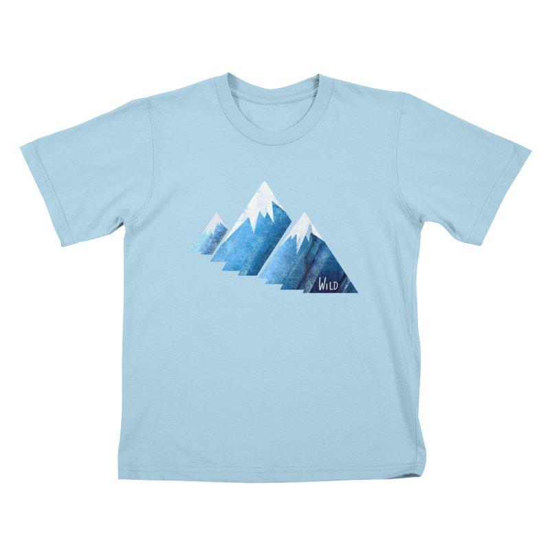 WILD MAJESTY Kids T-Shirt by iCKY the Great's Artist Shop