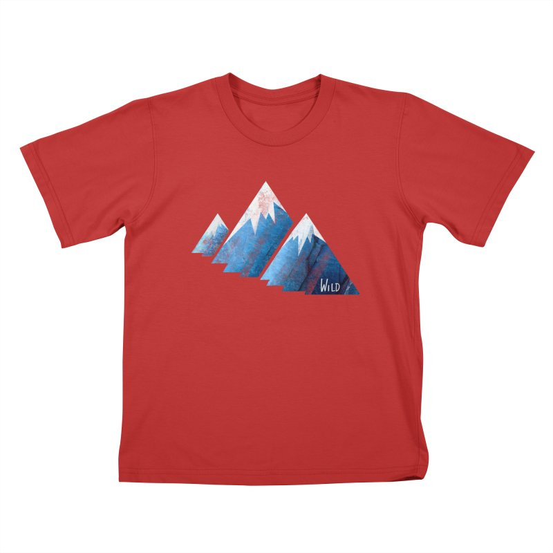 WILD MAJESTY Kids T-Shirt by iCKY the Great's Artist Shop