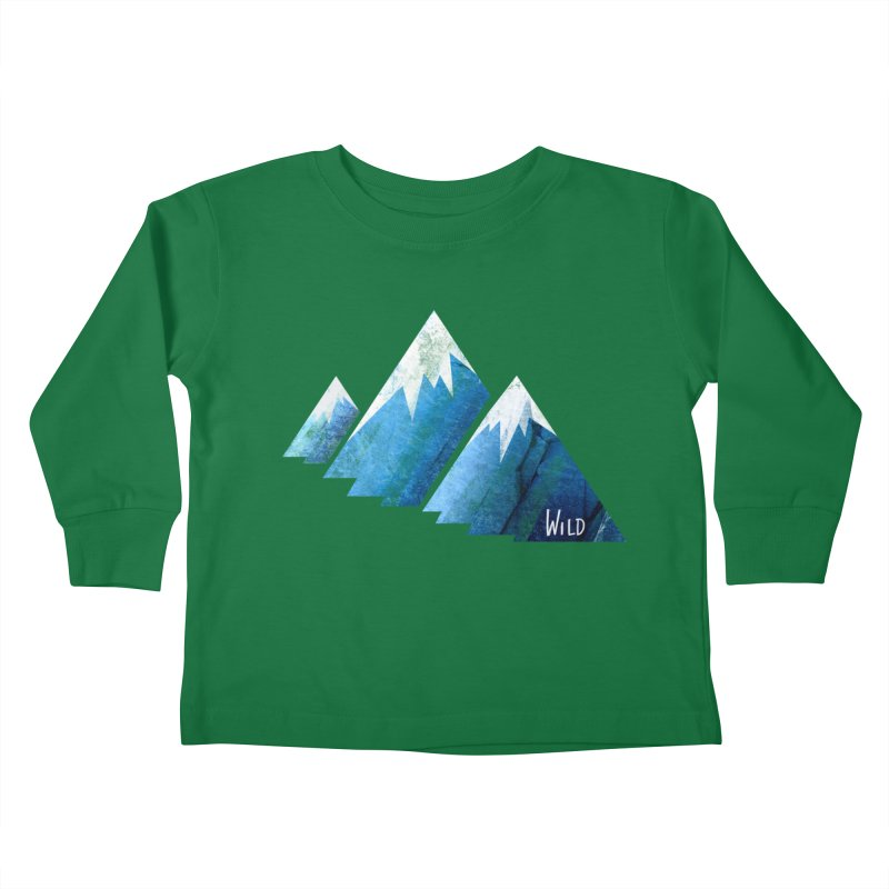 WILD MAJESTY Kids Toddler Longsleeve T-Shirt by iCKY the Great's Artist Shop