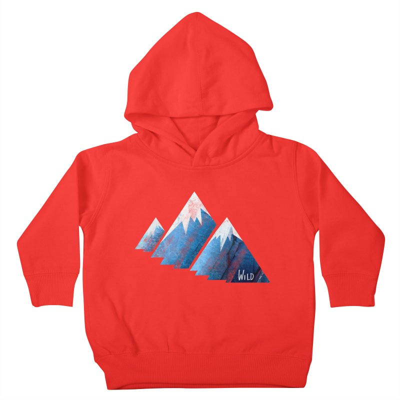 WILD MAJESTY Kids Toddler Pullover Hoody by iCKY the Great's Artist Shop