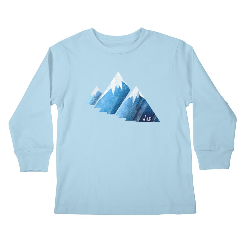WILD MAJESTY Kids Longsleeve T-Shirt by iCKY the Great's Artist Shop