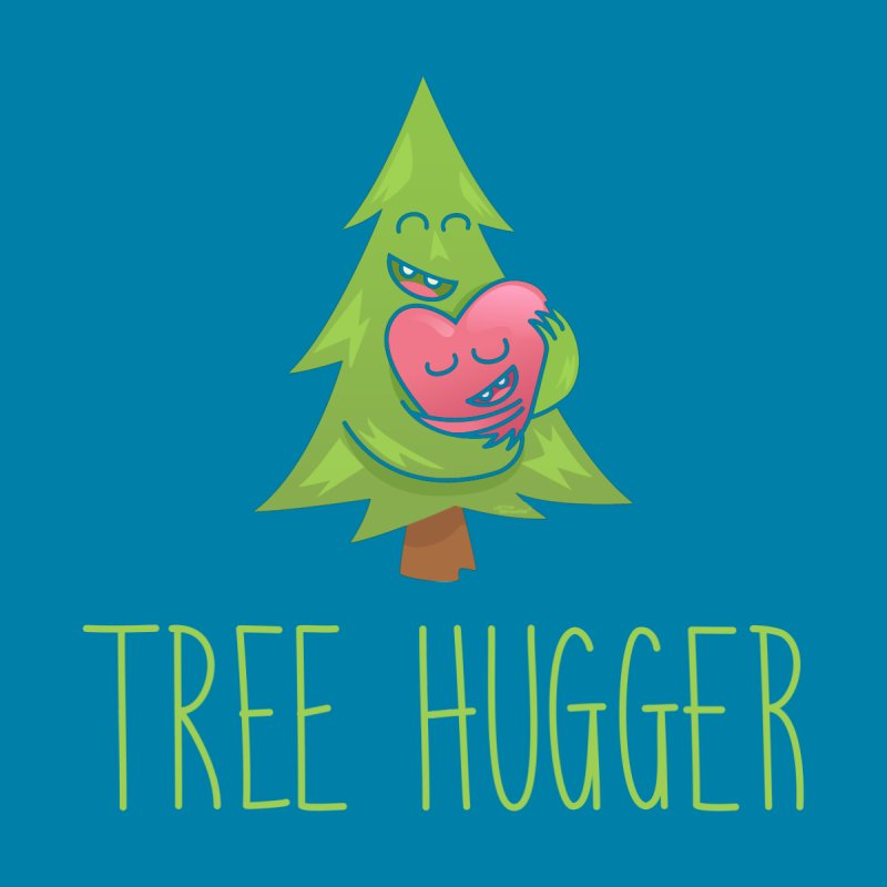 TREE HUGGER Men's T-Shirt by iCKY the Great's Artist Shop