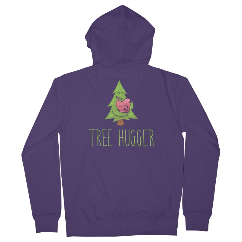 TREE HUGGER Women's Zip-Up Hoody by iCKY the Great's Artist Shop