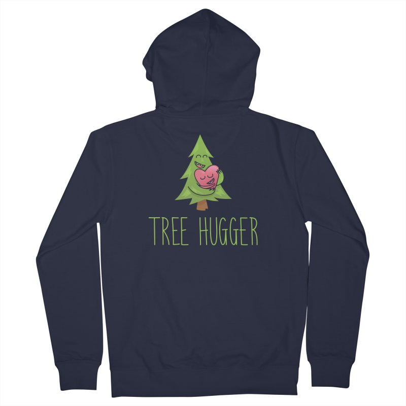 TREE HUGGER Women's Zip-Up Hoody by iCKY the Great's Artist Shop