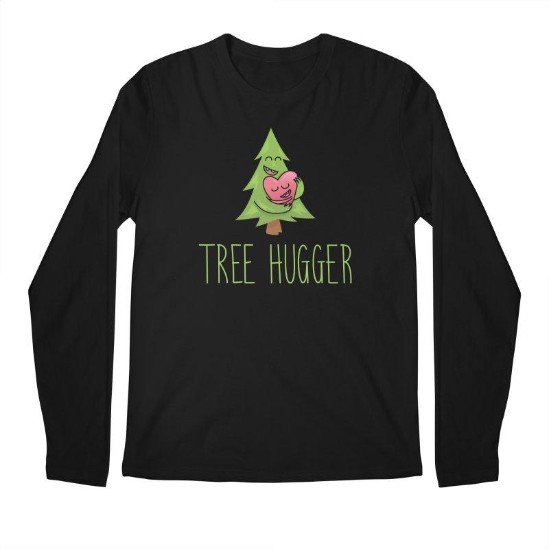 TREE HUGGER Men's Regular Longsleeve T-Shirt by iCKY the Great's Artist Shop
