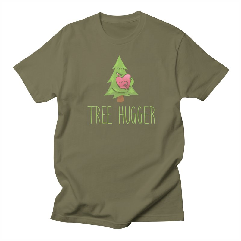TREE HUGGER Men's Regular T-Shirt by iCKY the Great's Artist Shop
