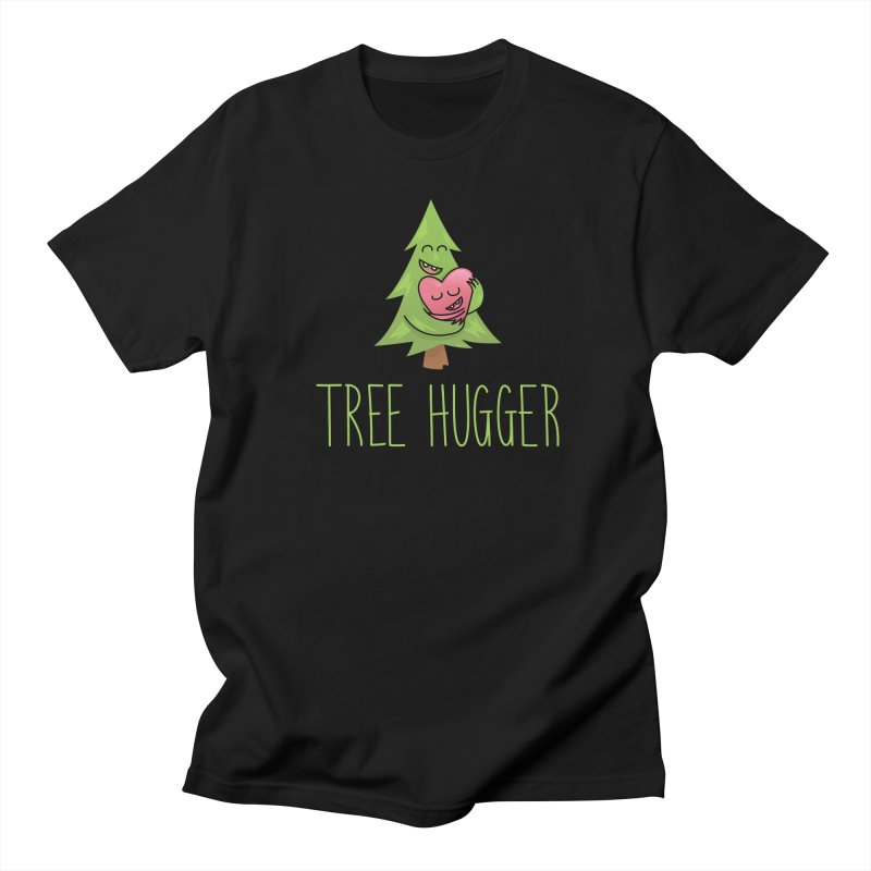 TREE HUGGER Women's Regular Unisex T-Shirt by iCKY the Great's Artist Shop