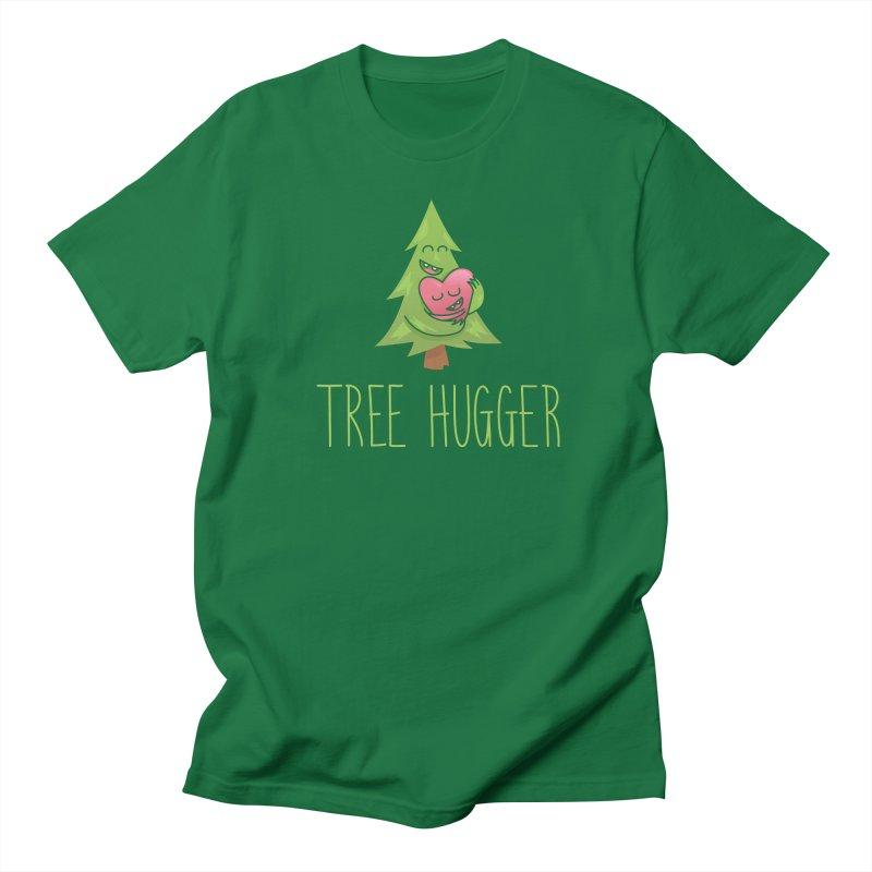 TREE HUGGER Men's Regular T-Shirt by iCKY the Great's Artist Shop