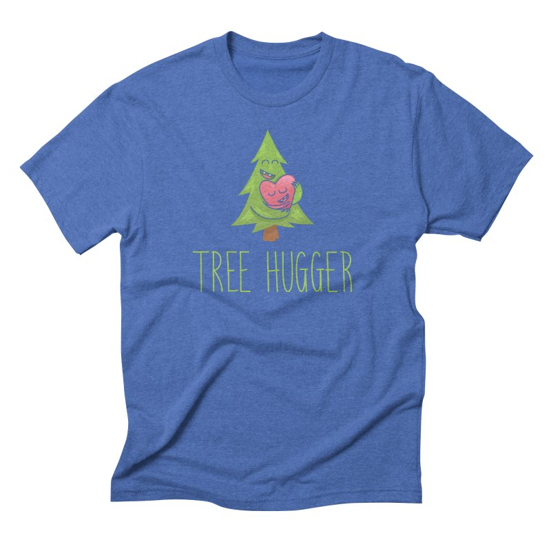 TREE HUGGER Men's Triblend T-Shirt by iCKY the Great's Artist Shop
