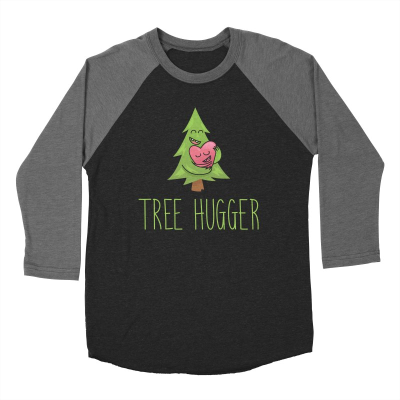 TREE HUGGER Women's Baseball Triblend Longsleeve T-Shirt by iCKY the Great's Artist Shop