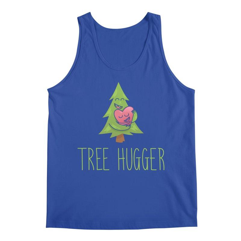 TREE HUGGER Men's Tank by iCKY the Great's Artist Shop