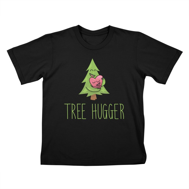 TREE HUGGER Kids T-Shirt by iCKY the Great's Artist Shop
