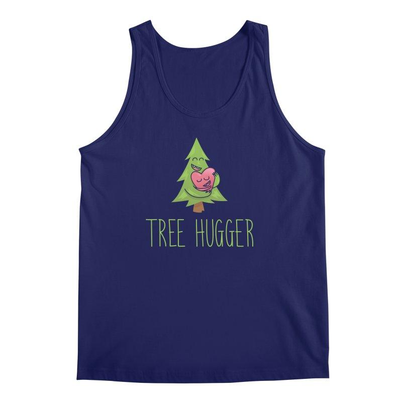 TREE HUGGER Men's Regular Tank by iCKY the Great's Artist Shop