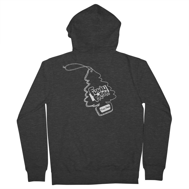 FUNKY FRESH (Trail Stank edition) Men's French Terry Zip-Up Hoody by iCKY the Great's Artist Shop