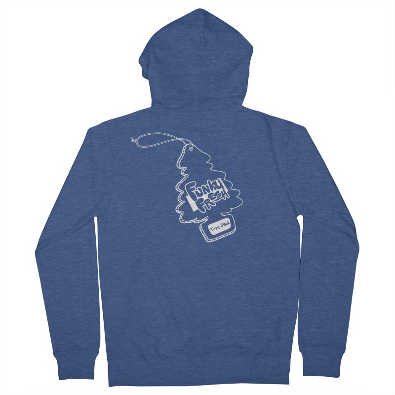 FUNKY FRESH (Trail Stank edition) Men's Zip-Up Hoody by iCKY the Great's Artist Shop