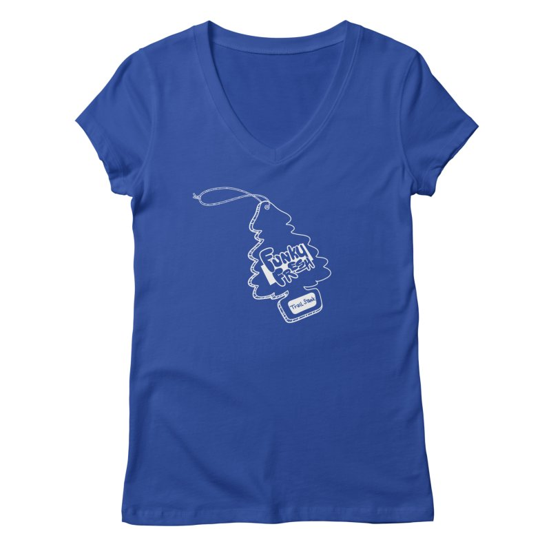 FUNKY FRESH (Trail Stank edition) Women's Regular V-Neck by iCKY the Great's Artist Shop