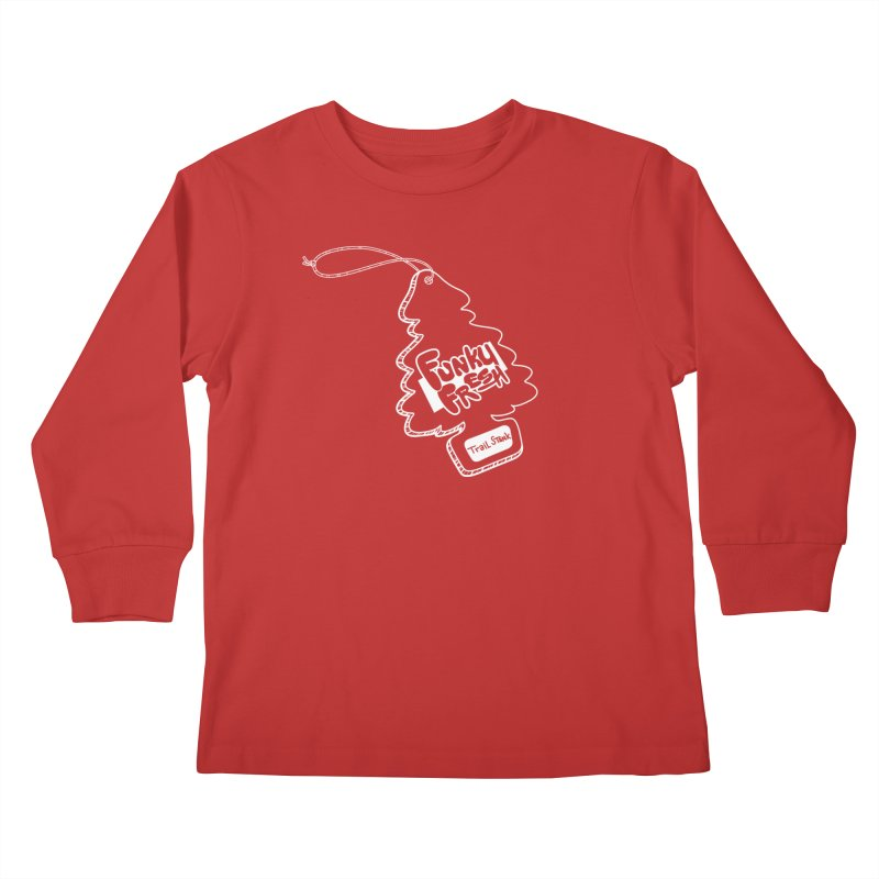 FUNKY FRESH (Trail Stank edition) Kids Longsleeve T-Shirt by iCKY the Great's Artist Shop