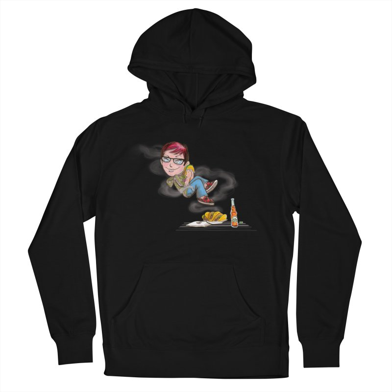 TACO HEAVEN Men's French Terry Pullover Hoody by iCKY the Great's Artist Shop
