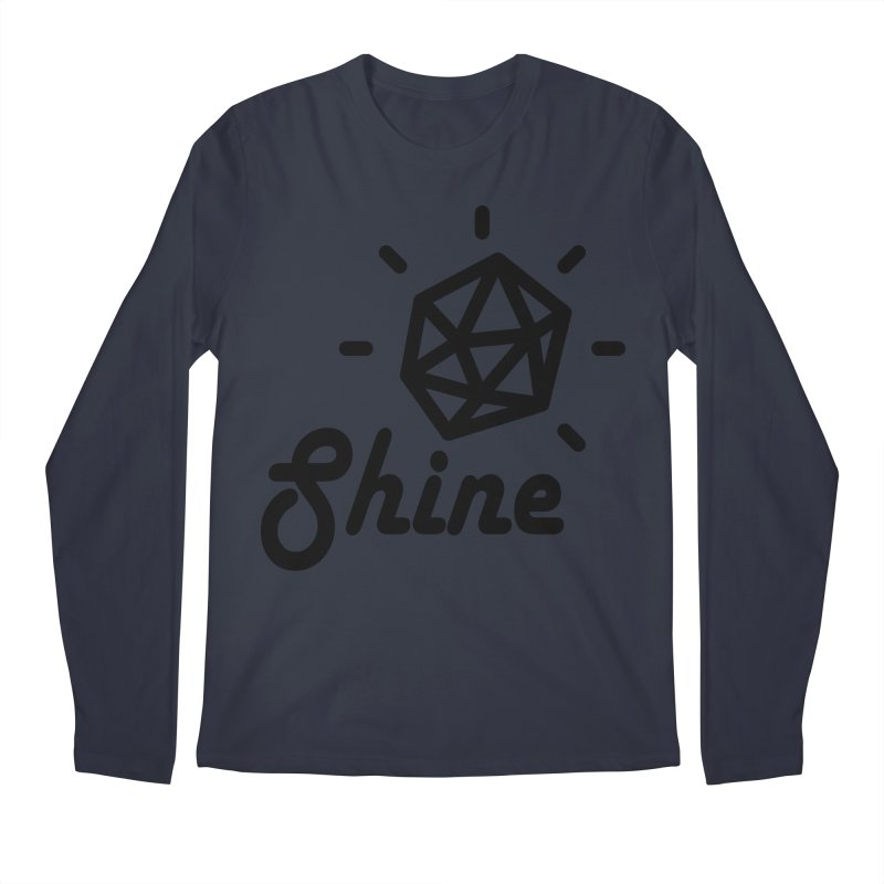 Shine Men's Longsleeve T-Shirt by iconnico
