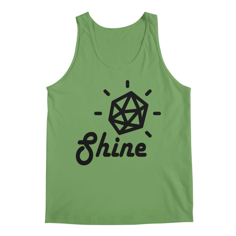 Shine Men's Tank by iconnico