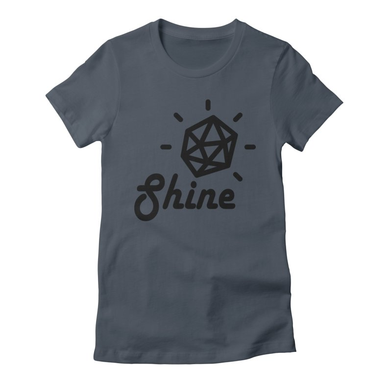 Shine Women's T-Shirt by iconnico