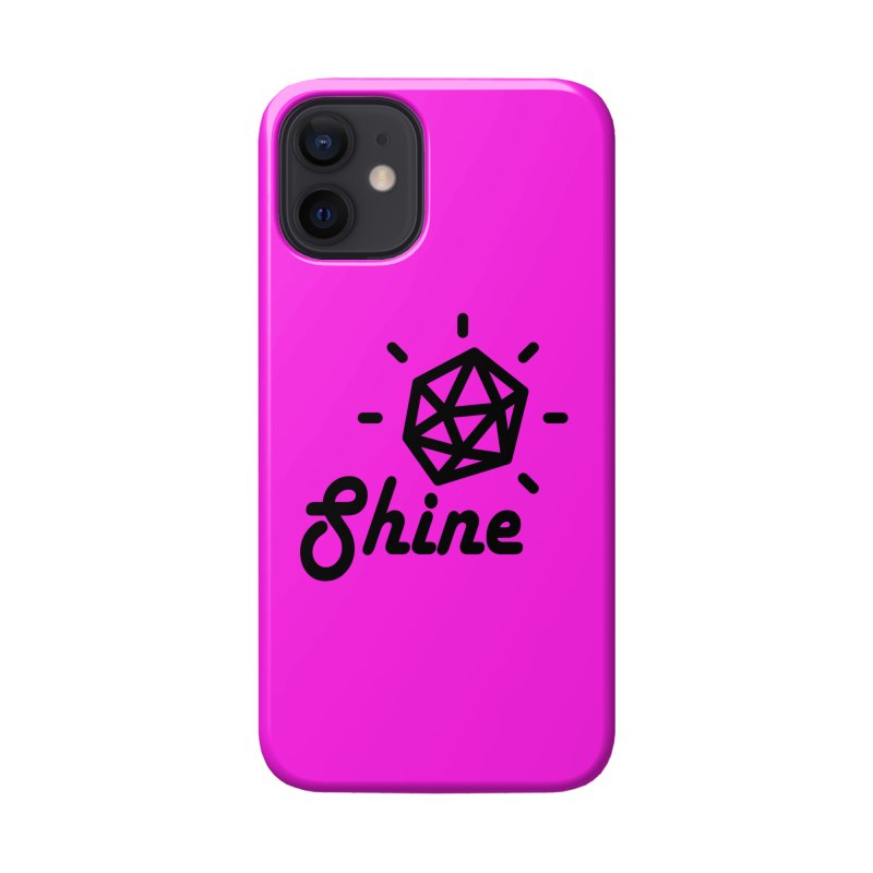 Shine Accessories Phone Case by iconnico