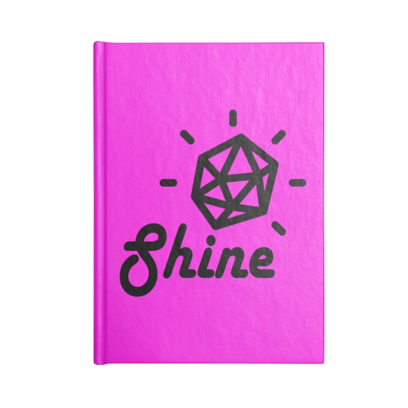 Shine Accessories Notebook by iconnico