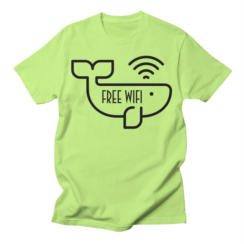 Free Wifi Men's T-Shirt by iconnico