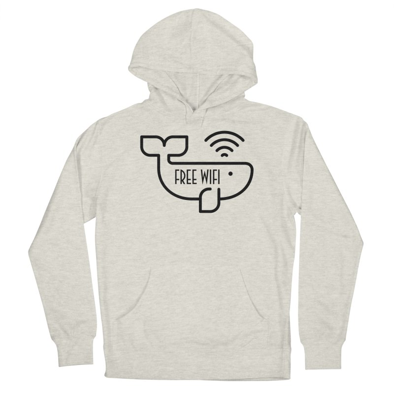 Free Wifi Men's Pullover Hoody by iconnico