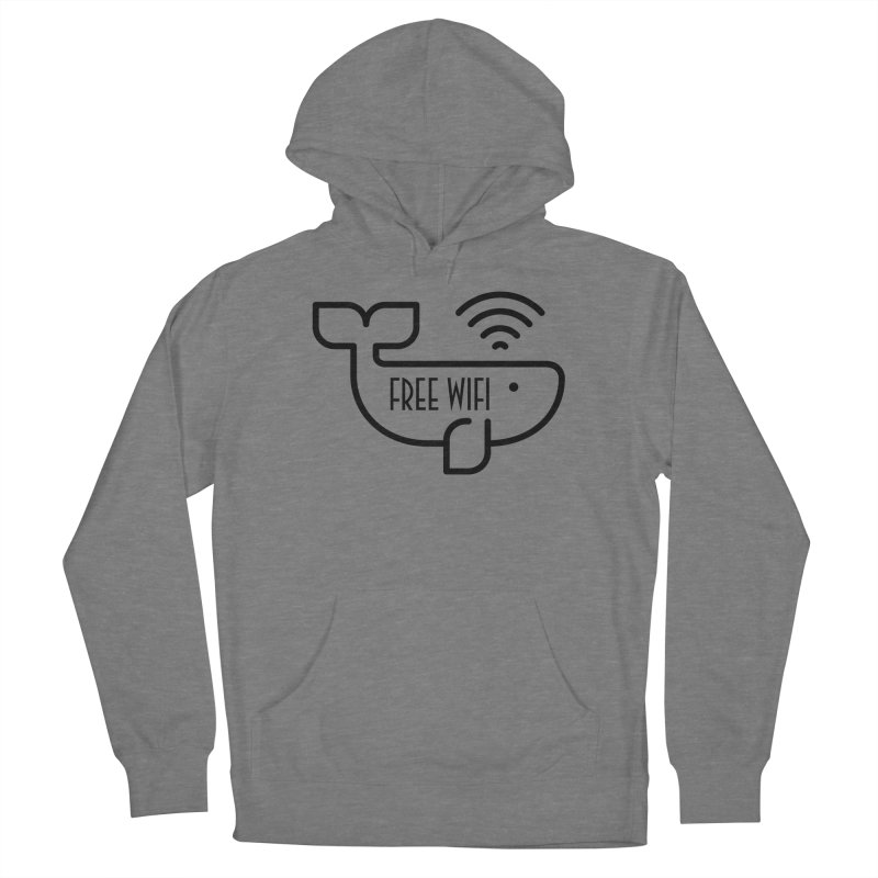 Free Wifi Women's Pullover Hoody by iconnico