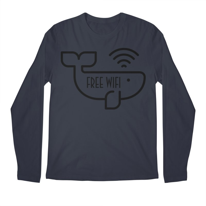 Free Wifi Men's Longsleeve T-Shirt by iconnico