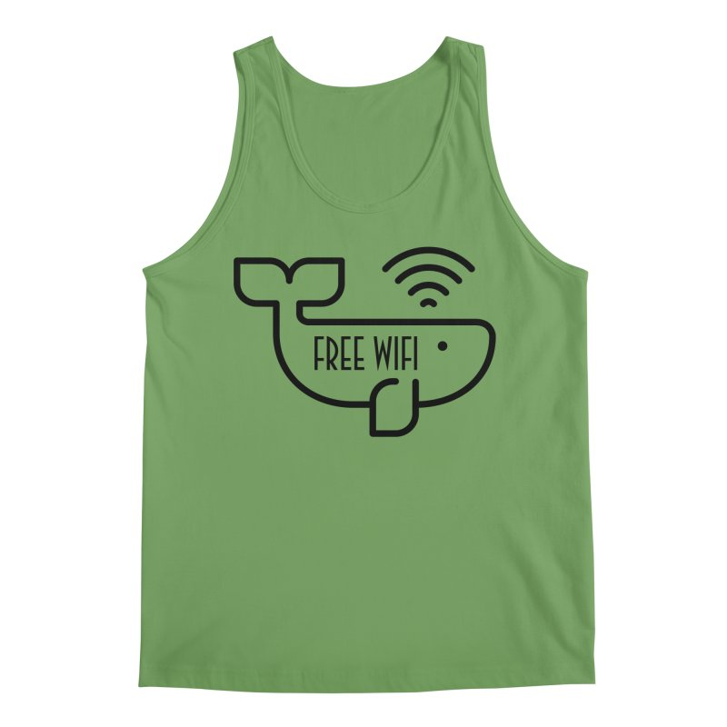 Free Wifi Men's Tank by iconnico