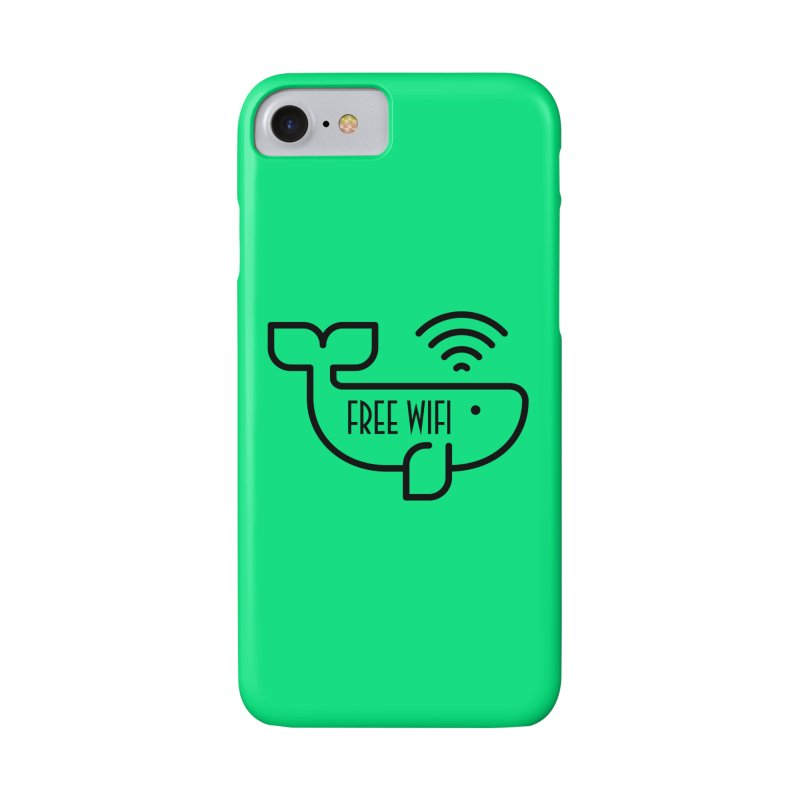 Free Wifi Accessories Phone Case by iconnico