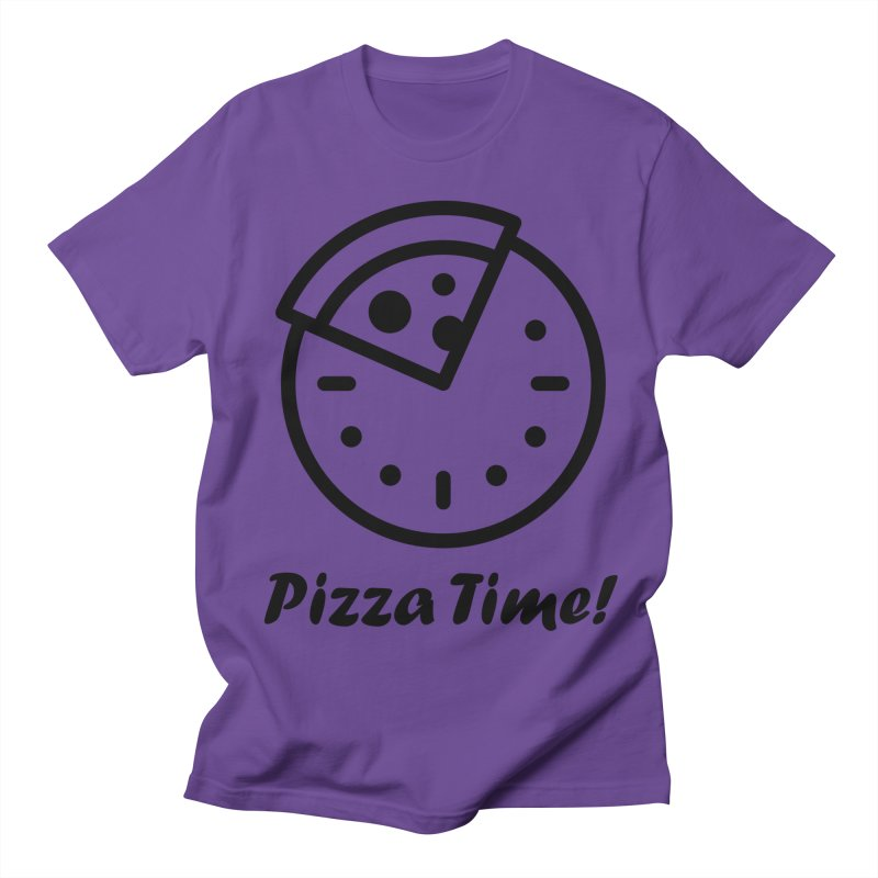 Pizza Time! Men's T-Shirt by iconnico