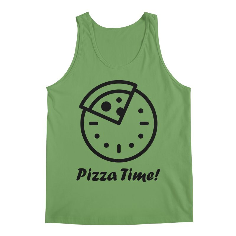 Pizza Time! Men's Tank by iconnico