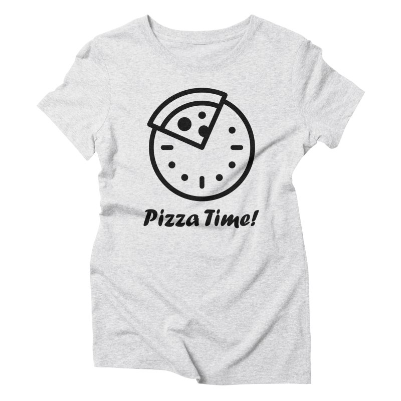 Pizza Time! Women's T-Shirt by iconnico