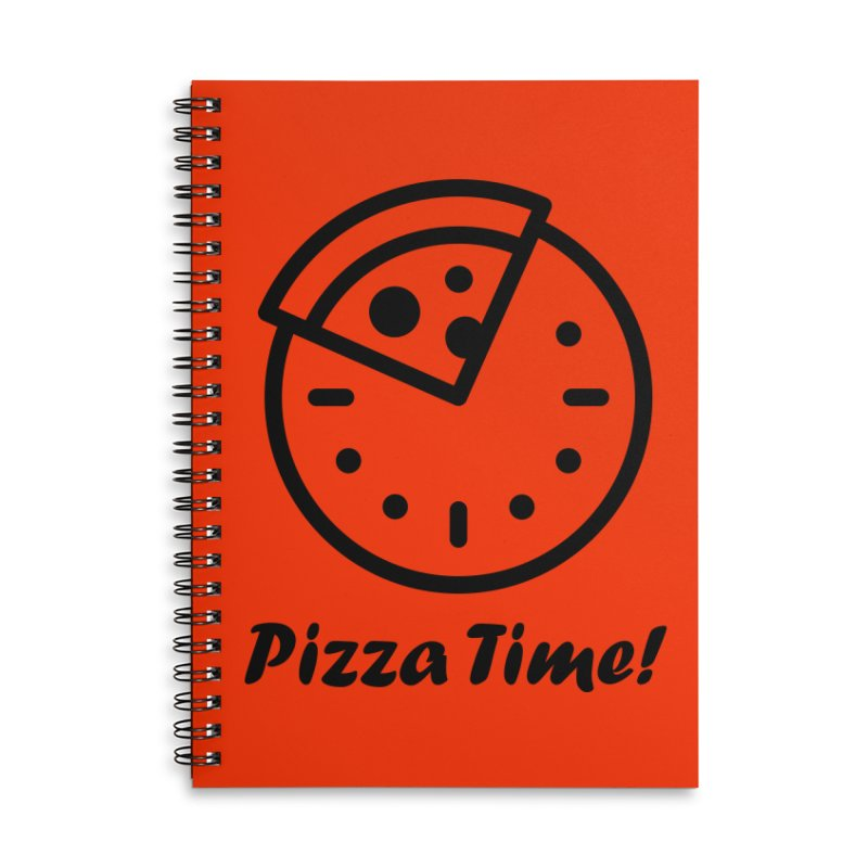 Pizza Time! Accessories Notebook by iconnico