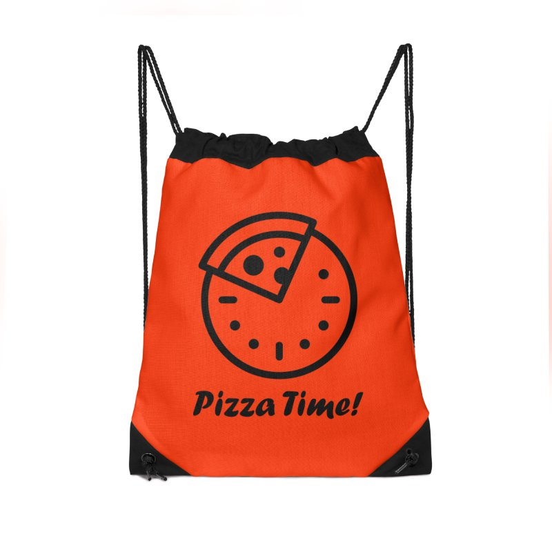 Pizza Time! Accessories Bag by iconnico
