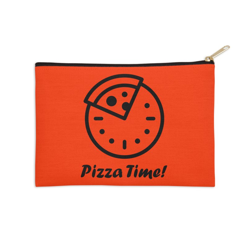 Pizza Time! Accessories Zip Pouch by iconnico