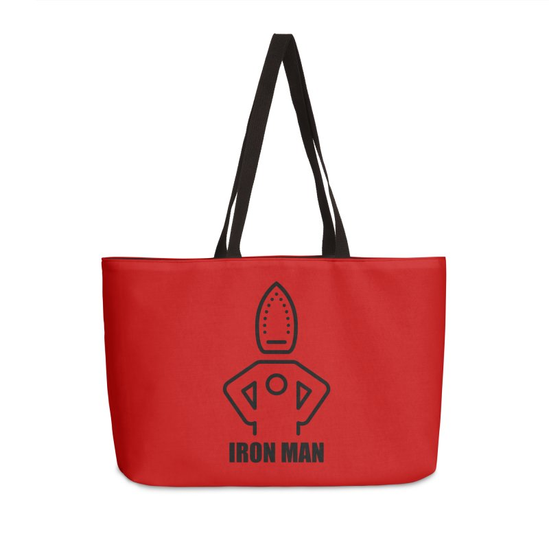 Iron Man Accessories Bag by iconnico