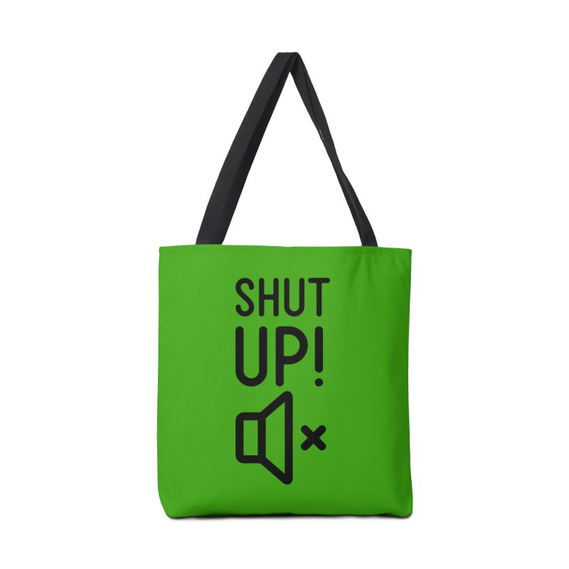 Shut Up! Accessories Bag by iconnico