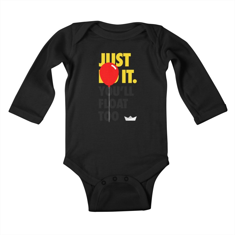 Just It Kids Baby Longsleeve Bodysuit by iconnico