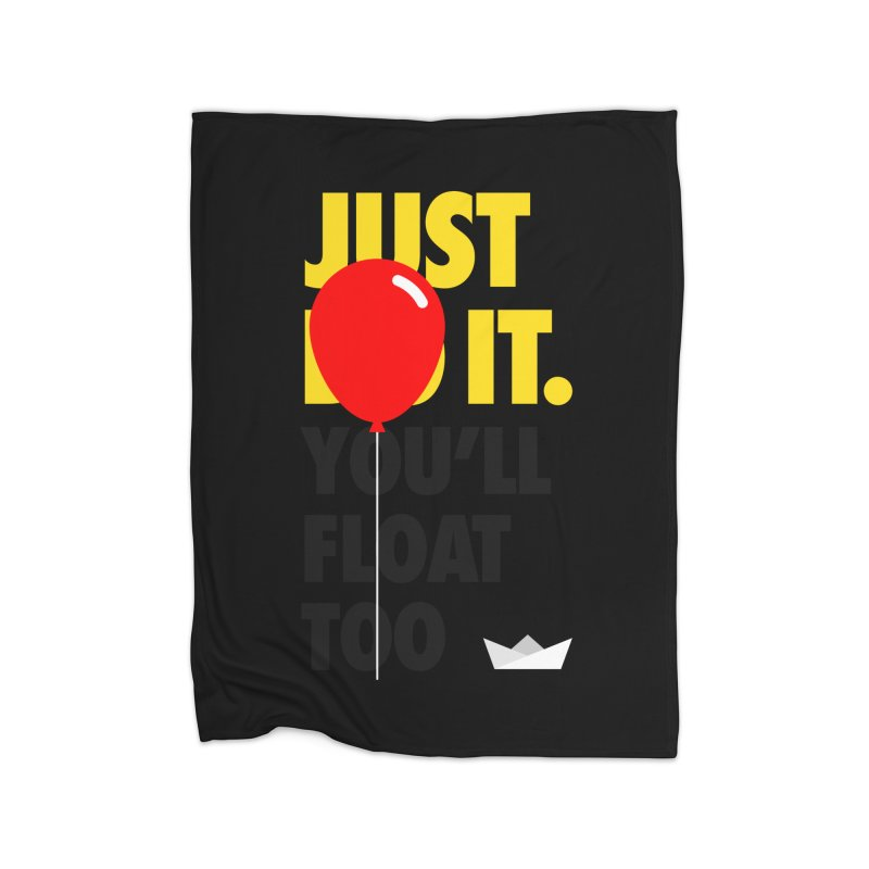Just It Home Fleece Blanket Blanket by iconnico