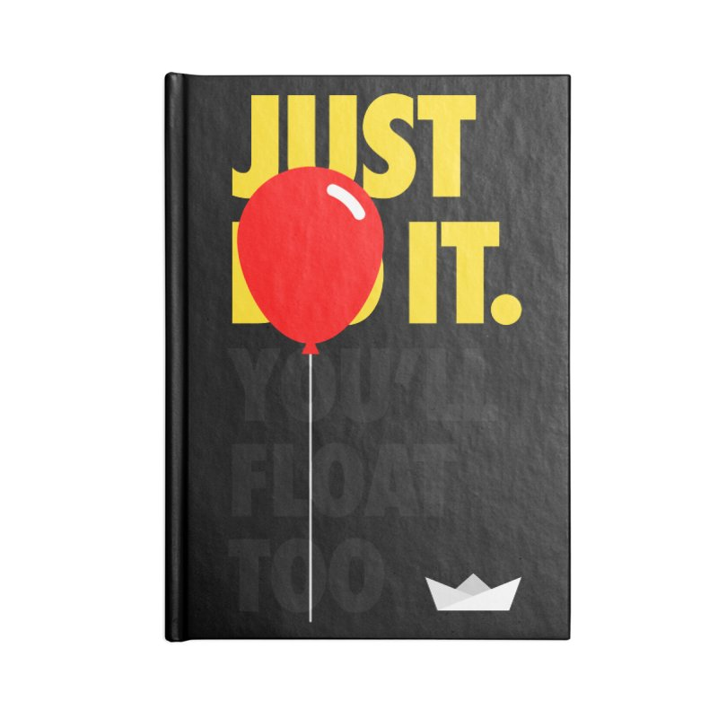 Just It Accessories Blank Journal Notebook by iconnico