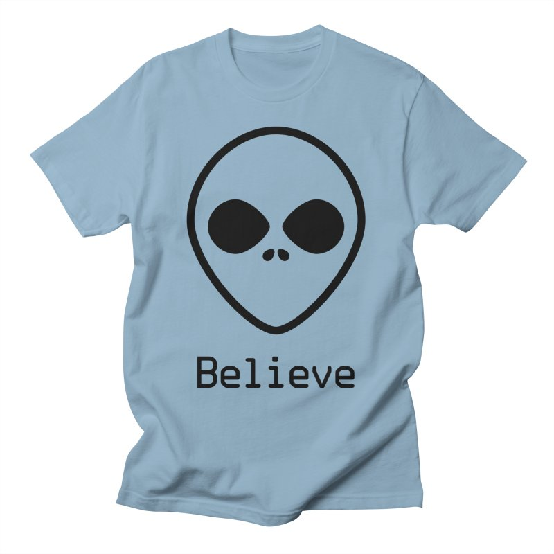 Believe Men's T-Shirt by iconnico