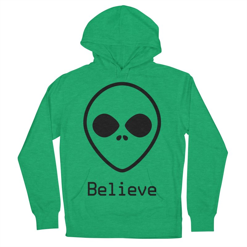 Believe Women's French Terry Pullover Hoody by iconnico
