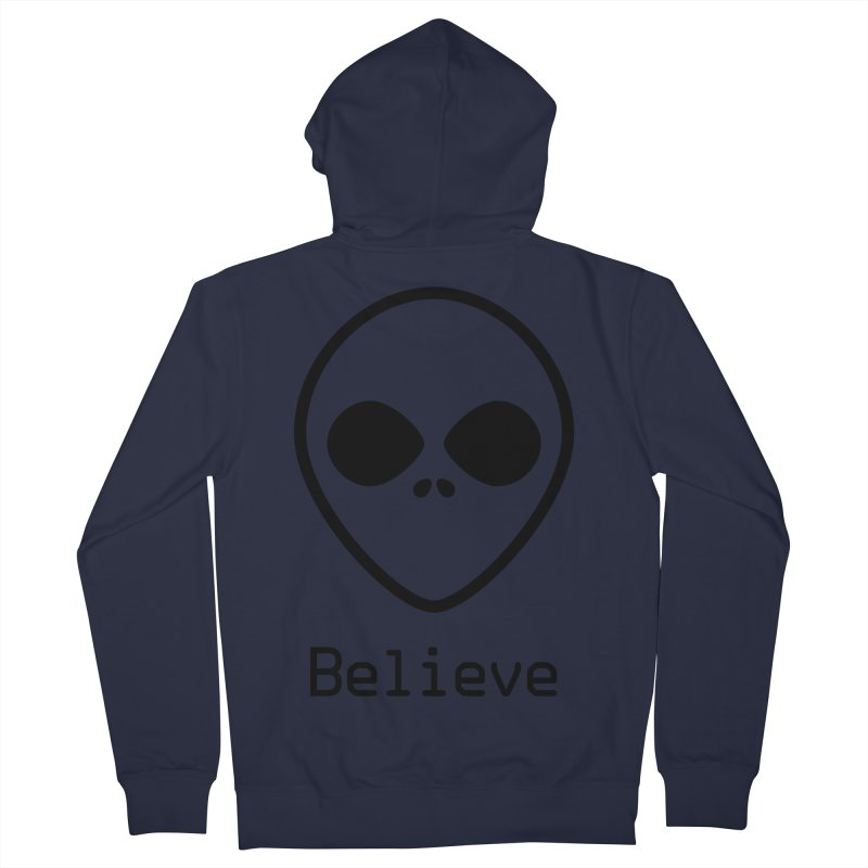 Believe Women's French Terry Zip-Up Hoody by iconnico