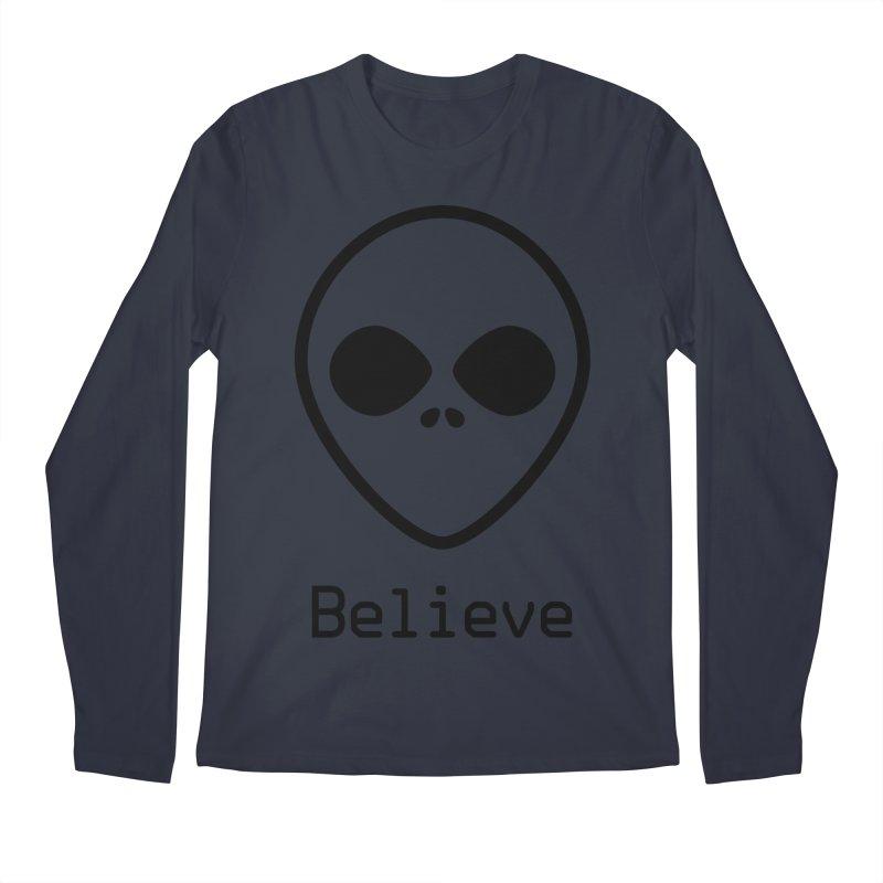 Believe Men's Longsleeve T-Shirt by iconnico