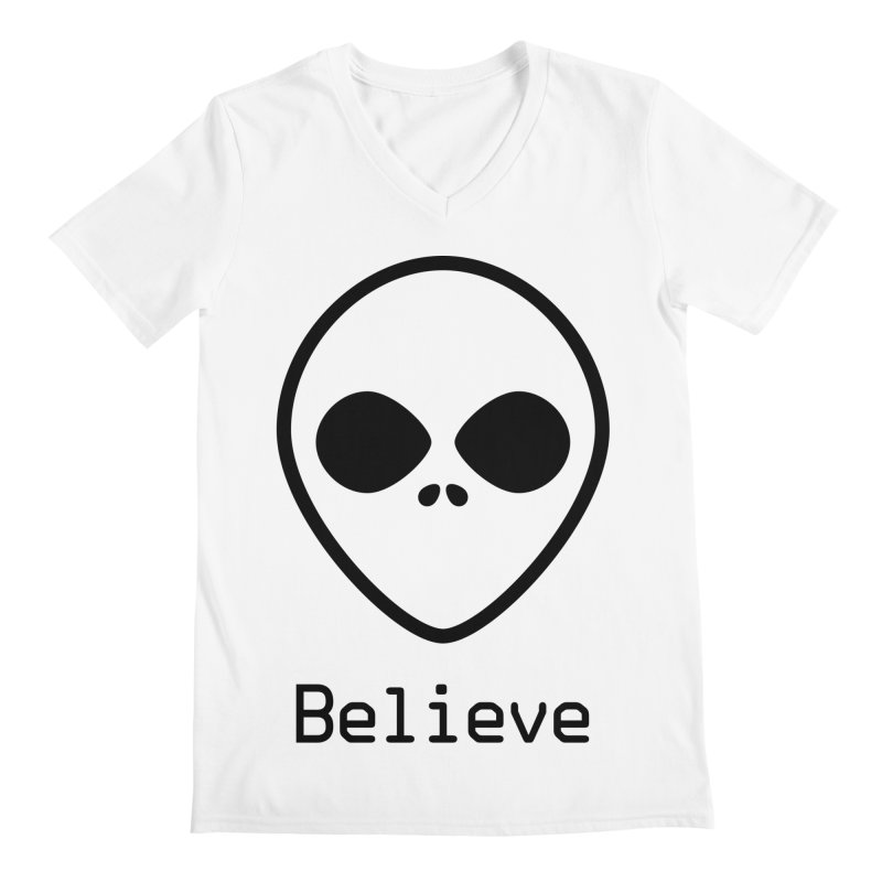 Believe Men's V-Neck by iconnico